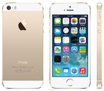 Смартфон Apple iPhone 5S 16GB Gold (no touch id)